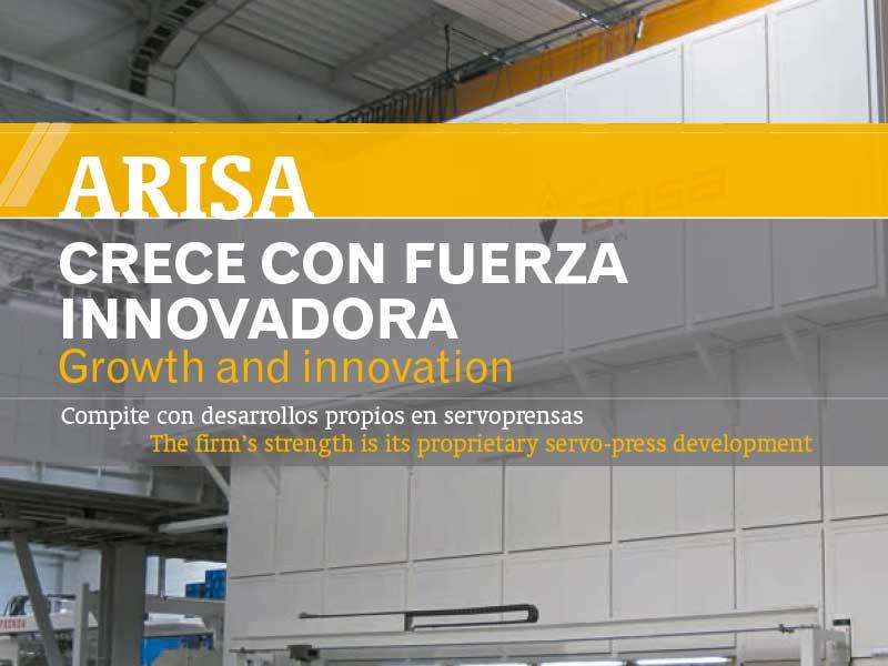 Arisa: Crece con fuerza innovadora